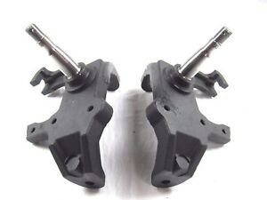 1955 57 Chevy 2 Drop Spindle Pair For Disc Brakes Bpc 1009
