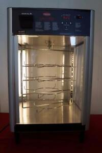Hatco Countertop Pass Thru Humidified Hot Food Display Cabinet