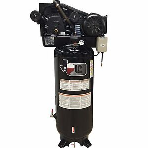 5 hp Two stage Air Compressor With Magnetic Starter 60 gallon On Sale