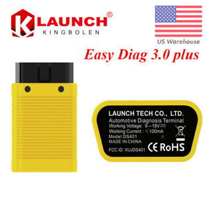 Launch X431 Easydiag 3 0 Plus Obdii Bluetooth Diagnostic Scanner For Android