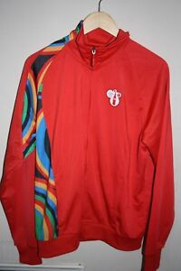 London 2012 Olympics Red Sponsor Jacket by Coca Cola Men's Large Recycled
