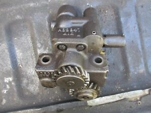 1976 1370 Case Diesel Farm Tractor Oil Pump Free Shipping A63947