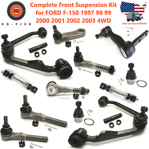 20pc Complete Front Suspension Kit For Ford F 150 1997 2003 4wd