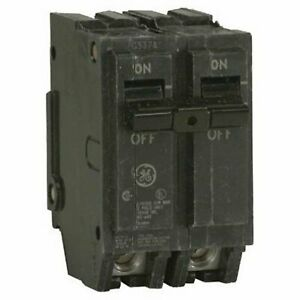 General Electric Thql2160 Circuit Breaker 2 pole 60 amp Thick Series