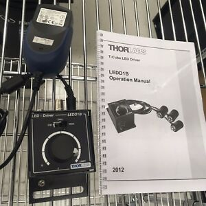 Thorlabs Ledd1b Operation With Manual