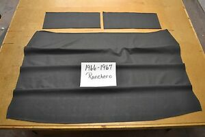 1966 66 1967 67 Ford Ranchero Black Headliner Usa Made Top Quality