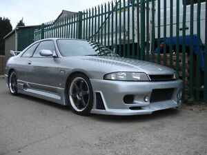 For Nissan Skyline R33 Gts Jun style Frp Fiber Glass Front Bumper Bodykits
