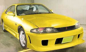 For Nissan Skyline R33 Gts Ing style Frp Front Bumper Accessories Racing Trim