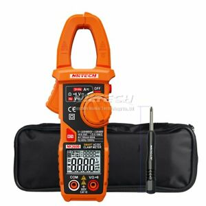 Nktech Digital Clamp Meter Auto Range Voltmeter Ammeter Ohm Test Multimeter Tool