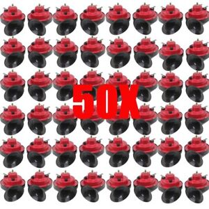 50x 12v 110db Dual Tone Replacement Electric Automobile Car Motorcycle Horn B2