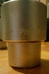 Williams 2 12 Point 1 Inch Drive Socket