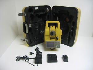 Topcon Gts725 Total Station Complete For Surveying One Month Warranty