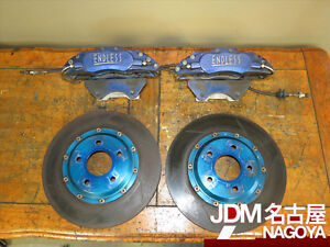 Jdm Endless 6 Pistons Front Brake Calipers For Toyota Cresta Supra Soarer Rotors