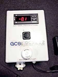 Gcs 222 Oxygen Analyzer