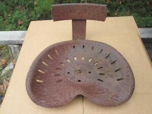 Holland Tobacco Vegetable Transplanter Setter Complete Antique Metal Seat