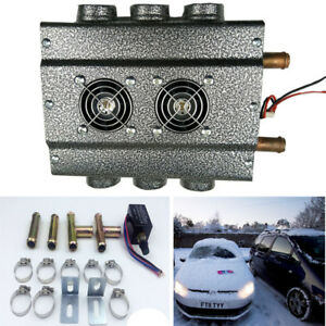 12v 6 hole Compact Truck Car Heater Water Heating Defroster Demister W Switch
