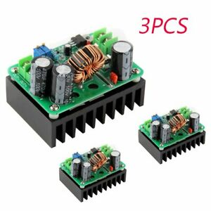 3pcs Dc dc 600w 10 60v To 12 80v Boost Converter Step up Module Power Supply B6