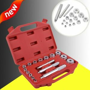 Bearing Race Seal Driver Master Set Wheel Axle Puller Aluminum Tool Kit W Case B