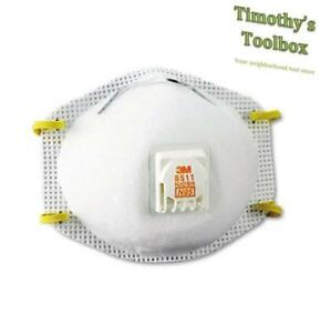 3m 8511 Particulate Sanding Respirator 3 Packs Of 10 30 Total