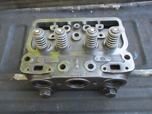 1965 Case 930 Diesel Comfort King Tractor Cylinder Head A20957 Free Shiip
