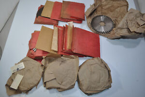 Huge Lot Of 34 Regal Beloit Slitting Saw Blade Radius Cutters 4 X 3 16 X 1 Bore