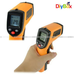 Non contact Lcd Ir Infrared Laser Temperature Thermometer Gun Bady Thermometer