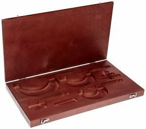 Starrett 936 Wood Case Micrometer Set