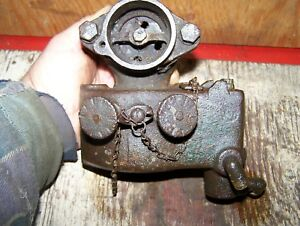 Old Ihc International Harvester 6hp Type M Hit Miss Gas Engine Mixer Carburetor