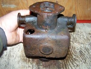 Old Fuller Johnson K 3hp 5hp Hit Miss Gas Engine Kerosene Mixer Carburetor Wow