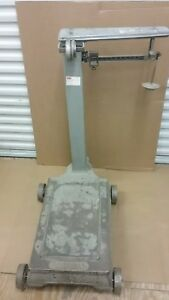 Vintage Fairbanks Platform Scale In Working Condition