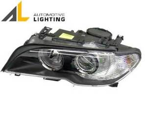 Left Driver Halogen Headlight Assembly Al 63127165907 For Bmw 330ci E46