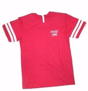 Coca-Cola Vintage Sport T-shirt Red- BRAND NEW