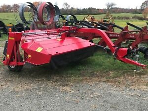 2015 Massey Ferguson 1359 9 Discbine Haybine Mower Conditioner New Idea 5209