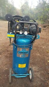 Used Cummins Air Compressor In Goldsboro Nc 5hp With Wheels Stands Upright