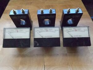 3 Instrument Transformers Inc Cat 2 Sft 301 Cts 300 5 And Panel Meters Used