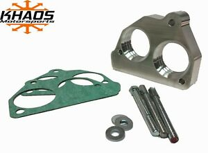 Khaos Motorsports Helix 2 Bore Throttle Body Spacer 87 95 Chevy Gmc 4 3 5 0 5 7