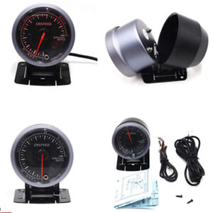 2 5 60mm Air Fuel Ratio Gauge Lean Optimal Rich Display Universal Car Meter New