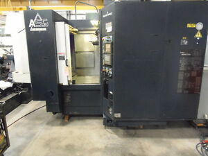 Makino A 55 Delta 15 75 Pallets 40 Tools 14 000 Rpm Fanuc 16m Thru Cool 1999