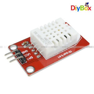 Dht22 Red Am2302 Digital Temperature Humidity Sensor Module For Arduino Uno R3