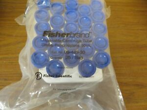 Fisherbrand 50ml Centrifuge Tubes With Caps 06 443 20 25 Pcs bag