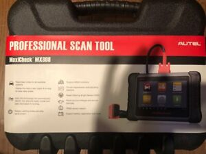 Autel us Mx808 All Systems Code Reader And Service Touch Screen Tablet