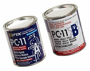Pc Products 640111 Pc 11 Two part Marine Grade Epoxy Adhesive Paste 4 Lb In T