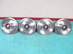 1967 69 Buick Grand Sport Gs Skylark Wildcat Rally Wheel Center Caps 1017