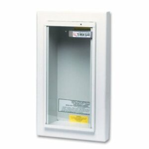 Kidde 468044 Potter Roemer Semi recessed 5 pound Fire Extinguisher Cabinet