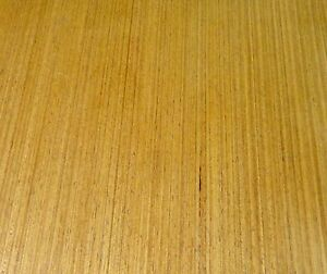 Teak Composite Wood Veneer 24 X 48 With Paper Backer 2 X 4 X 1 40th a