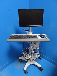 2013 Spacelabs 91387 Option 28106 Ultraview Sl Patient Monitor W Leads 14379
