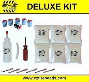 E z Tire Balance Beads Deluxe Kit Dually Truck 6 Oz Six pack 6 Bags Of 6 Oz