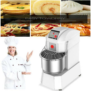 Good Quality Sliver 40l Business Spiral Dough Mixer Speed Bread Machine 1 5kw