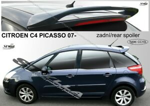 Spoiler Rear Roof Citroen C4 Picasso Wing Accessories