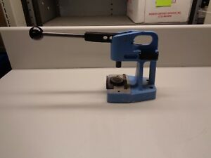 Amp 91295 1 Mini Arbor Press Used